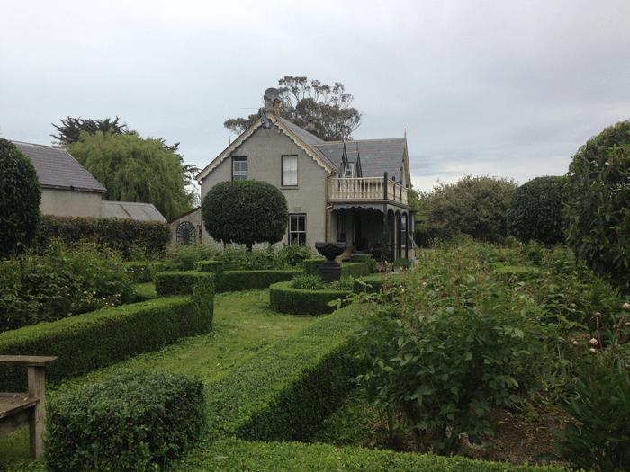 historic hedge garden